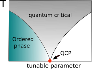 Generic phase diagram with a quantum critical point